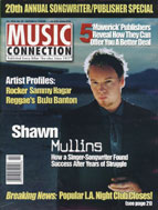 Music Connection Publisher Issue featuring Janet Fisher and Goodnight Kiss Music